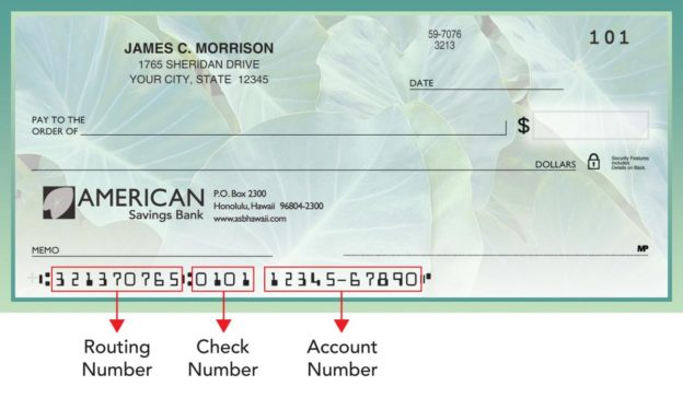 ASB Routing Number Where to Locate on Check