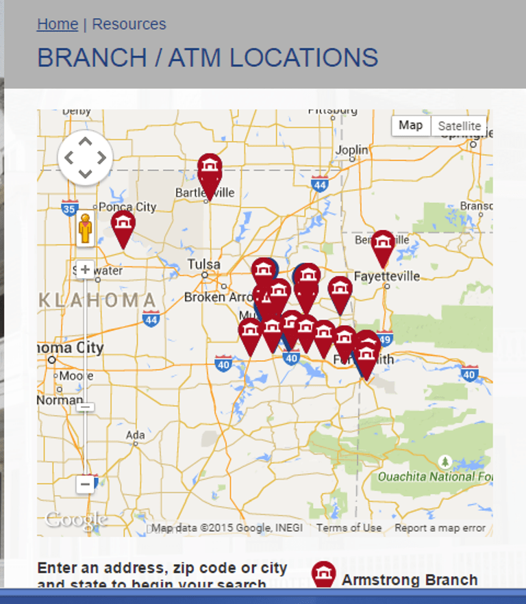 ArmstrongBank Location