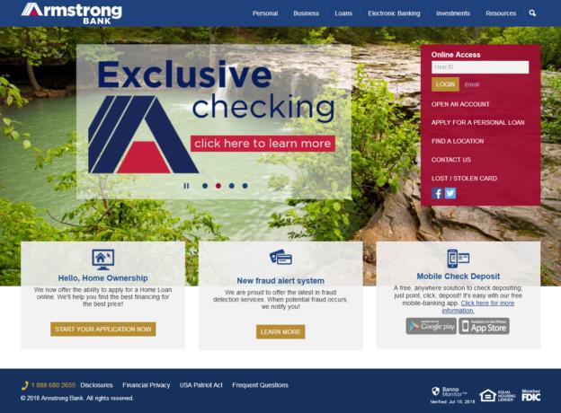 Home Armstrong Bank