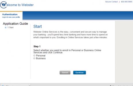 Webster Enroll