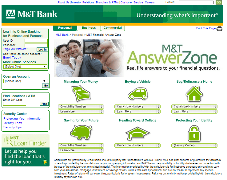 Answer Zone – M&T