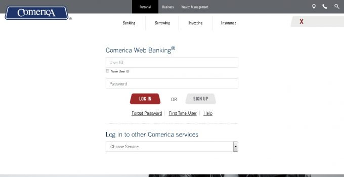 Comerica Page Banking Login
