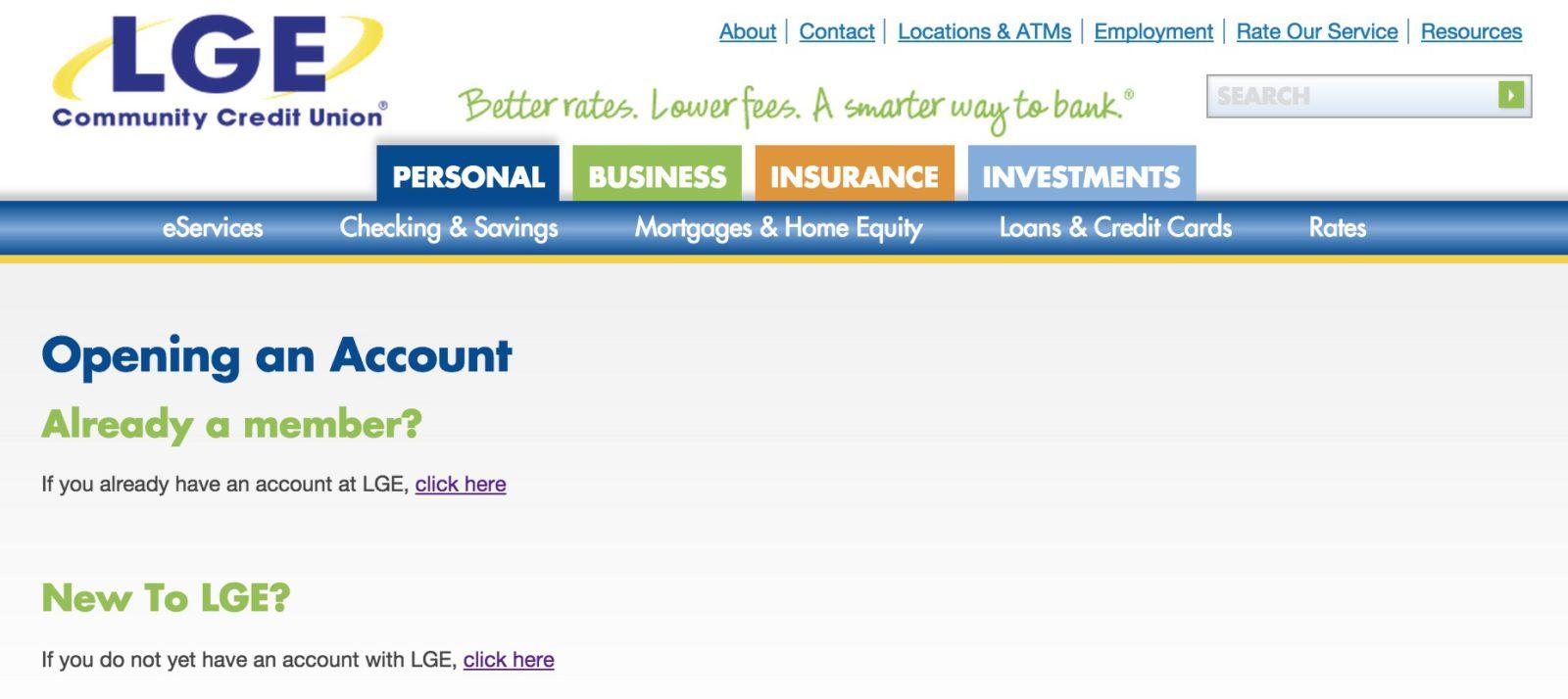 lgeccu bank enroll