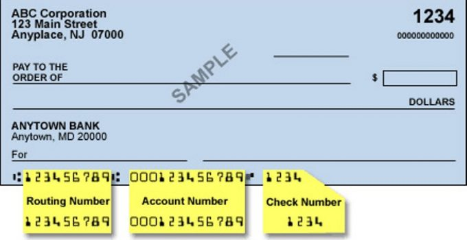 Wells Fargo Check